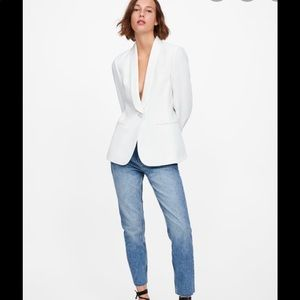 New with tags! Zara white blazer